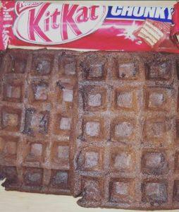 Cookie Choco Waffles