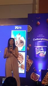 Zeba Kohli at Dairy Milk Spready Event