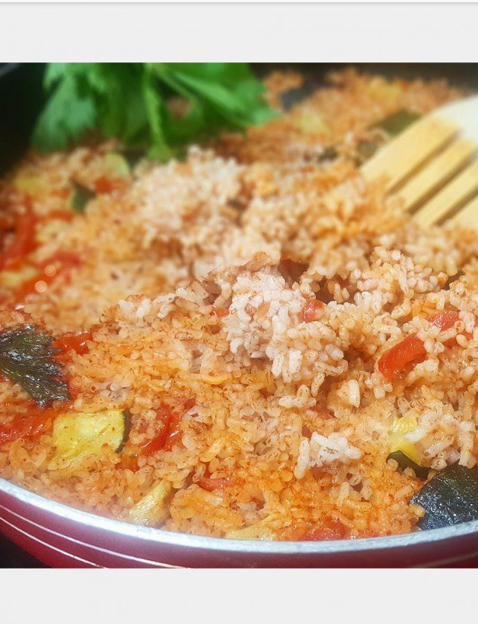 Mediterranean Red Rice