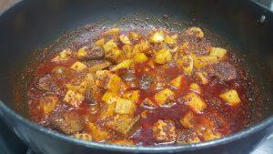 making of Ragi pulav