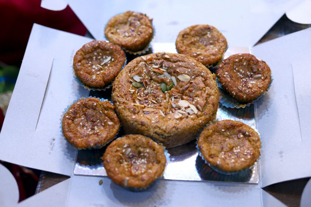 Rajgira Cake